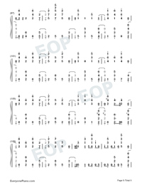 Santa's Coming For Us-Sia and Greg Kurstin-Numbered-Musical-Notation-Preview-6