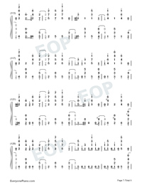 Santa's Coming For Us-Sia and Greg Kurstin-Numbered-Musical-Notation-Preview-7