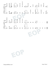 Santa's Coming For Us-Sia and Greg Kurstin-Numbered-Musical-Notation-Preview-9