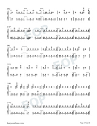 Next to Me-Imagine Dragons Numbered Musical Notation Preview 4