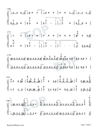 Next to Me-Imagine Dragons-Numbered-Musical-Notation-Preview-7
