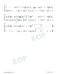 Unsullied-Ashes of Love Theme-Numbered-Musical-Notation-Preview-3