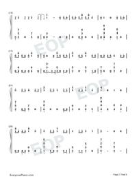 Échame La Culpa-Luis Fonsi和Demi Lovato雙手簡譜預覽2