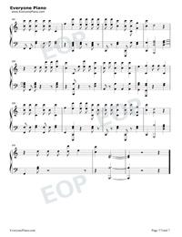 Échame La Culpa-Luis Fonsi和Demi Lovato五線譜預覽7