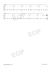 I Would Die for You-Miley Cyrus-Numbered-Musical-Notation-Preview-6
