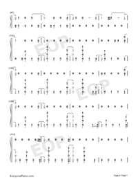 Found You-Kane Brown-Numbered-Musical-Notation-Preview-6
