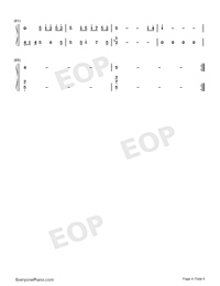 Fairy Wreath-FLOWERS OST-Numbered-Musical-Notation-Preview-4