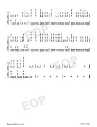 君に贈る詩-DUFF両手略譜プレビュー3