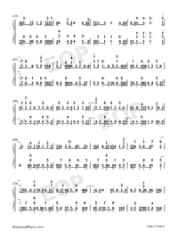 Friend Of Mine-Avicii-Numbered-Musical-Notation-Preview-2