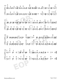 Friend Of Mine-Avicii-Numbered-Musical-Notation-Preview-4