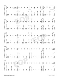 You Be Love-Avicii ft Billy Raffoul-Numbered-Musical-Notation-Preview-4