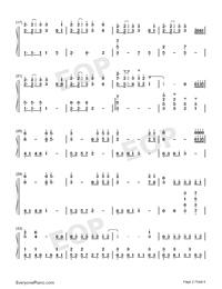 Save Me-BTS Free Piano Sheet Music & Piano Chords