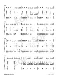 來自天堂的魔鬼-鄧紫棋雙手簡譜預覽3