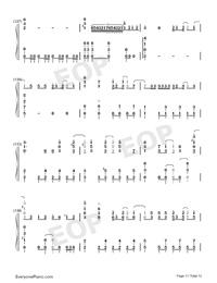 ドラマツルギー-初音ミク両手略譜プレビュー11