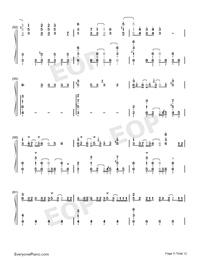 ドラマツルギー-初音ミク両手略譜プレビュー5
