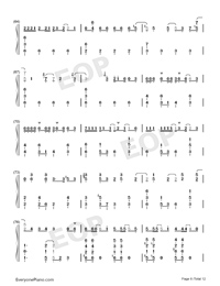 ドラマツルギー-初音ミク両手略譜プレビュー6