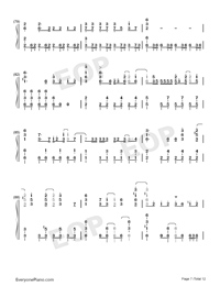 Dramaturgy-Hatsune Miku Numbered Musical Notation Preview 7