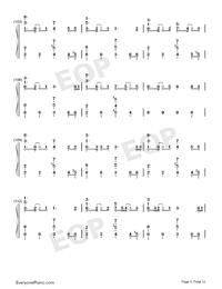 ドラマツルギー-初音ミク両手略譜プレビュー9