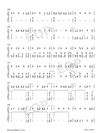 Let's Not Fall in Love-Big Bang-Numbered-Musical-Notation-Preview-2