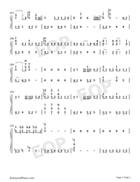You Are Not Alone-Full Version-Numbered-Musical-Notation-Preview-2