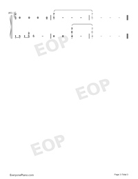 You Are Not Alone-Full Version-Numbered-Musical-Notation-Preview-3