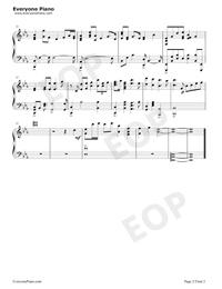 Violet's Letter-ヴァイオレット・エヴァーガーデンOST五線譜プレビュー2