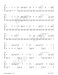 What Are Words-Original Version-Numbered-Musical-Notation-Preview-2
