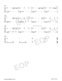 What Are Words-Original Version-Numbered-Musical-Notation-Preview-4