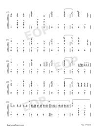 Potter Waltz-ハリー・ポッターと炎のゴブレット両手略譜プレビュー2