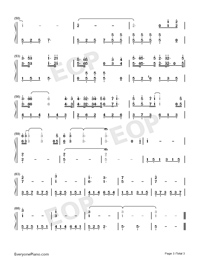 Poor or Rich-Li Ronghao-Numbered-Musical-Notation-Preview-3