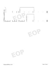 莉莉安-宋冬野雙手簡譜預覽4
