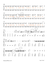 Desert Camel Numbered Musical Notation Preview 4