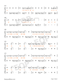 If Lonely Numbered Musical Notation Preview 2