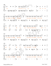 If Lonely Numbered Musical Notation Preview 4
