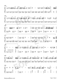 Young and Promising Numbered Musical Notation Preview 2