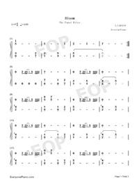 Bloom The Paper Kites Free Piano Sheet Music Piano Chords