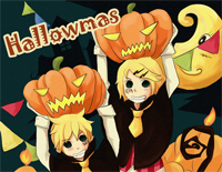 Happy Halloween-Kagamine Rin