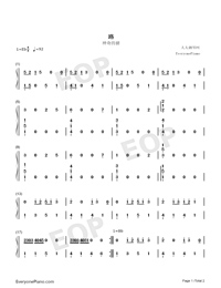 The Road-Numbered-Musical-Notation-Preview-1