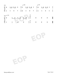 The Road-Numbered-Musical-Notation-Preview-2