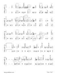 Help Me Out-Maroon 5 ft Julia Michaels-Numbered-Musical-Notation-Preview-2