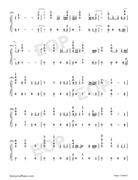 Help Me Out-Maroon 5 ft Julia Michaels-Numbered-Musical-Notation-Preview-3