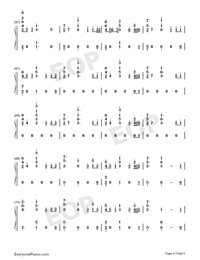 Help Me Out-Maroon 5 ft Julia Michaels-Numbered-Musical-Notation-Preview-4