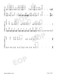 Kimi ni Furete-Bloom Into You OP-Numbered-Musical-Notation-Preview-3