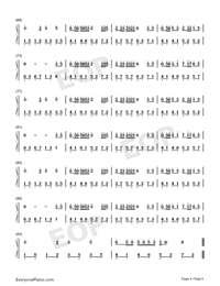 Windy Hill-Beautiful Piano-Numbered-Musical-Notation-Preview-4