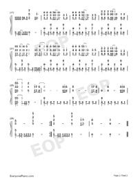 Remain Cool Till The End-Numbered-Musical-Notation-Preview-2