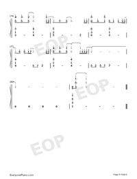 Hold On a Little Longer-Xeuphoria-Numbered-Musical-Notation-Preview-6