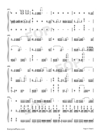 Waiting For You In The Future-Numbered-Musical-Notation-Preview-4