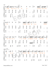 Believe-Stefanie Sun-Numbered-Musical-Notation-Preview-2