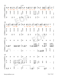 Believe-Stefanie Sun-Numbered-Musical-Notation-Preview-3