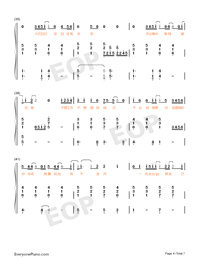 Believe-Stefanie Sun-Numbered-Musical-Notation-Preview-4